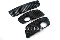 Replacement Front Lower Cooling Air Grille In Honeycomb Style Full Set For VW Volkswagen Golf Jetta
