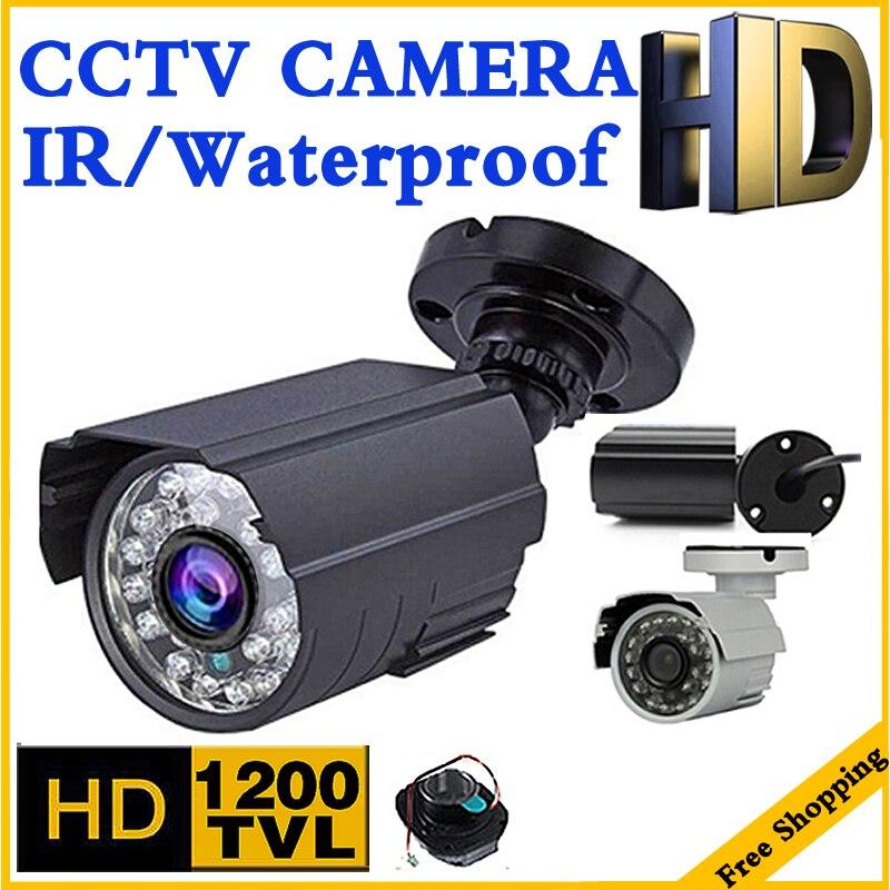 World Cup Sale Metal 1200TVL CCTV Security Surveillance HD Mini Camera infrared Night Vision Metal Waterproof IP66 Color vidicon цена и фото
