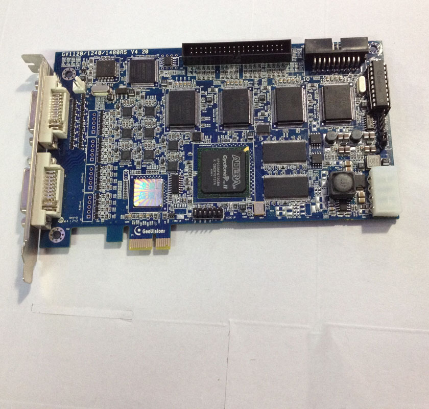 2 Chs Video capture Card 23885 chip PCI-E medical device capture card support Windows7 window10 32bit 64bit free shipping