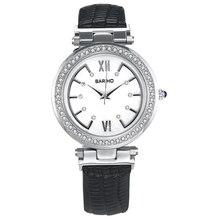 Brand Women Ladies Wristwatch PU Leather Watch Casual Fashion Quartz Watch reloj mujer Woman Diamonds Business Dress Watch