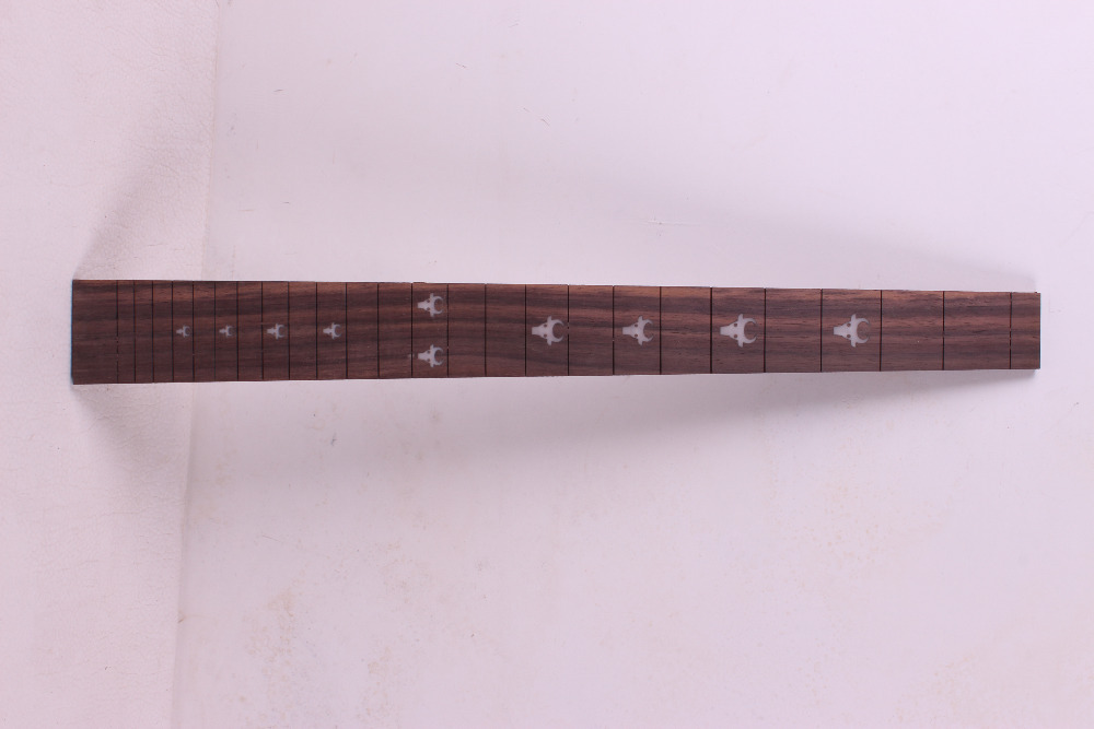 ФОТО 2 pcs Guitar Fretboard Fingerboard Fretless Guitar parts Dot inlaid Maple wood #26