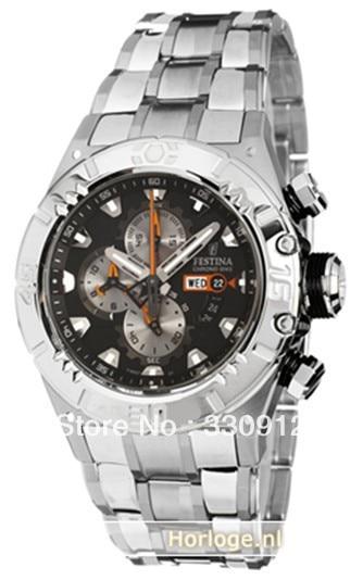 aa88b6c4a4f Festina F16527 7 Men s Quartz Watches 2014 Tour de France Chrono Bike  Chronograph Sports Style Black Dial Stainless Steel Bandfr