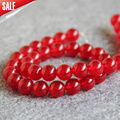 New For Necklace&Bracelet 8mm Red Jasper beads Round stones Loose DIY Jade Beads 15inch Jewelry making design wholesale