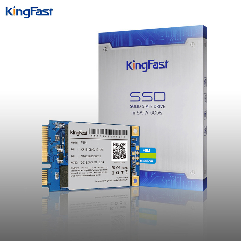 Kingfast F6M super speed internal SATA II/III Msata ssd 60GB 120GB MLC Nand flash SSD Solid State hard hd disk Drive for laptop