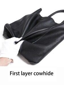 Image 4 - NMD сумки на плечо из натуральной кожи для женщин, роскошные сумки, женские сумки, дизайнерские модные мягкие сумки с большой подкладкой