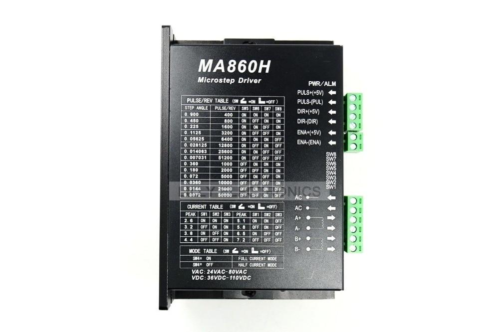 CNC 86 110 Moteur pas à pas pour Nema23/Nema34/Nema42 7.2A/AC18-80V/DC24-120V
