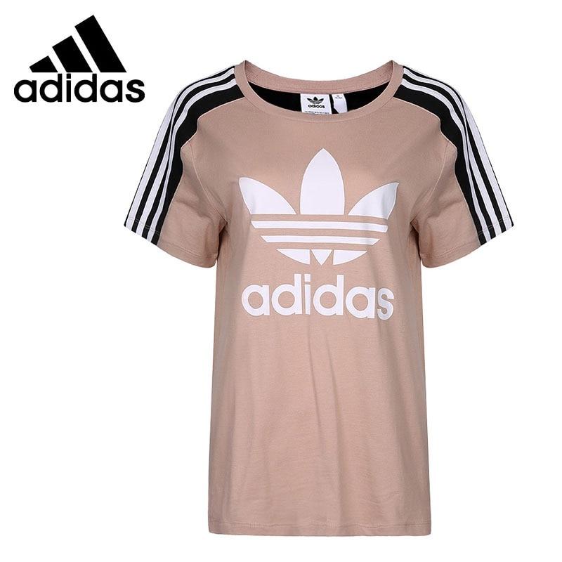 Original New Arrival 2018 Adidas Originals TAPE T SS Women's T-shirts short sleeve Sportswear original new arrival 2017 adidas originals men s t shirts short sleeve sportswear