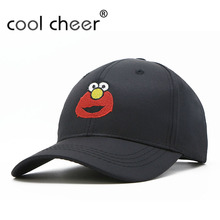 CoolCheer Hip-Hop Style Snapback Embroidery Pattern Baseball Cap Flat Curved Men's Women's Casquette Bone