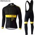 Phtxolue 2019, набор для велоспорта, Мужская одежда для велоспорта, одежда для велоспорта, дышащая, анти-УФ, одежда для велоспорта, с длинным рукаво...