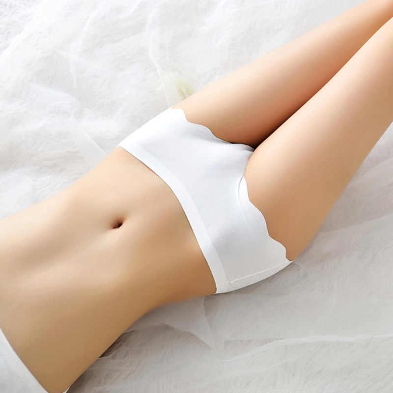 Luckymily Vrouwen Sexy Ijs Zijde Lingerie Hot Sexy Slipje Transparant Zien Door Mesh Ondergoed Onderbroek Bikini Thong Slips
