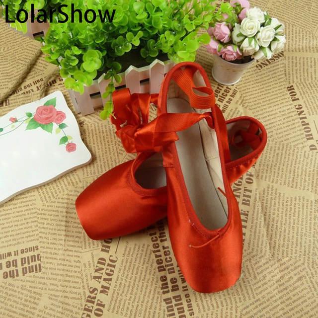 finest selection 4dd79 f5b32 Usura di Ballo di balletto Pointe scarpe colorate scarpe bianco nero rosso  giallo verde blu/Rosso Scarpe Da Ballo/Scarpe di Balletto Scarpe Per ...