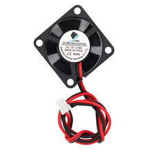 DC Brushless Fan Printer Parts 12V 0.09A 2Pin 30x30mm Small DC Cooling Cooler Fans For 3D Printer