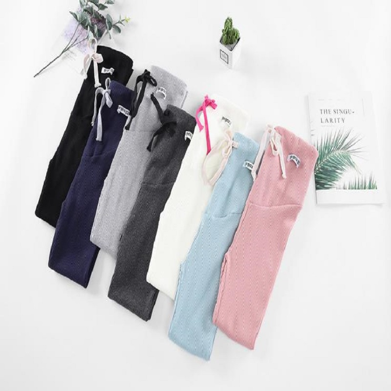 W416W413 High Waist Maternity Leggings for Pregnant Women Doll Pregnancy Leggings Pants Maternity Clothes