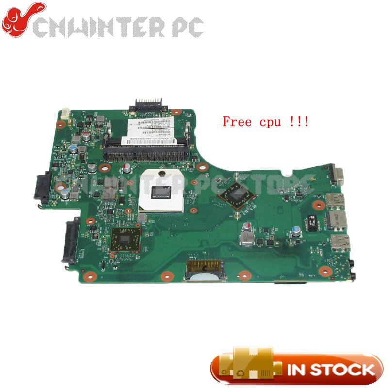 NOKOTION Main Board For Toshiba Satellite C650D C655D Laptop Motherboard DDR3 Free cpu 6050A2357401-MB-A02 V000225010 6050a2488301 mb a02 sps v000268060 laptop motherboard for toshiba satellite nb510 ddr3 sr0w1 n2600 cpu onboard mainboard