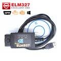 ELM327 USB FTDI chip con interruptor para F0.rd HS PUEDE y MS PUEDE cable de diagnóstico del coche Del Envío Libre