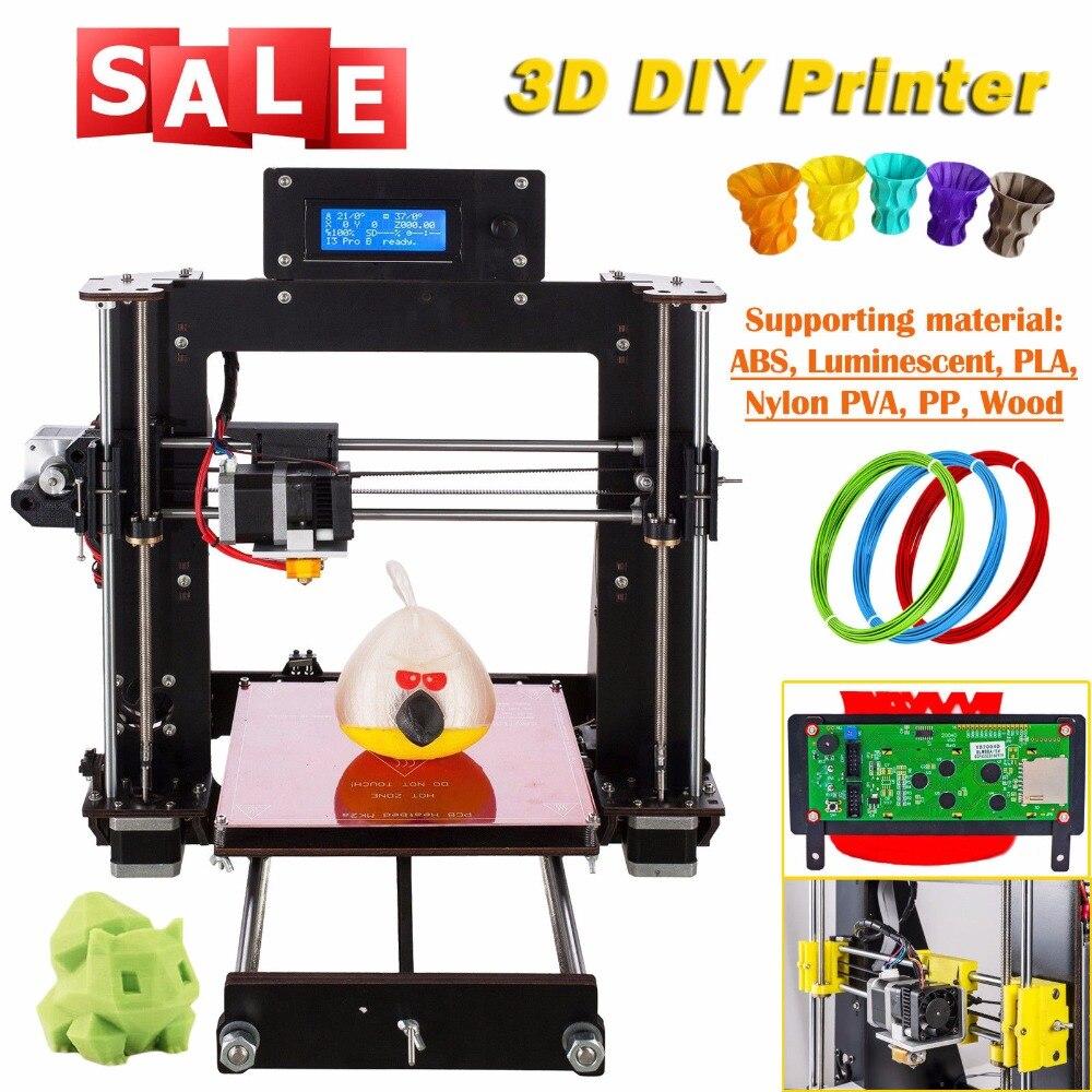 ⃝CTC stampante 3d Reprap Prusa i3 DIY kit black color Wood frame ...