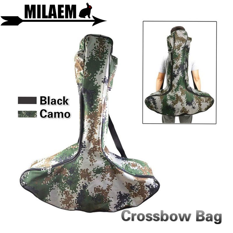1pc Archery Crossbow Bow Bag Lightweight Bow Bag Well-padded Crossbow Outdoor T-Type Bow Case Hunting Shooting Accessories