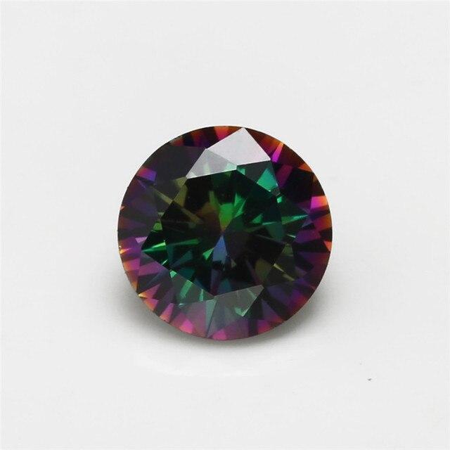Фото искусственные камни круглой формы с разноцветным кубическим цена