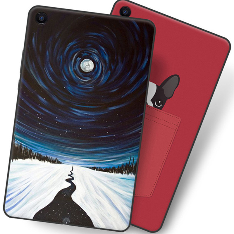 Cartoon Painted TPU Back Case For Xiaomi Mipad 4 Plus 10.1 2018 Soft Silicone Protective Cover For Mi Pad 4 Pad4 Plus 10.1 Inch