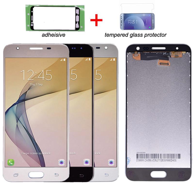 Pour Samsung galaxy J5 Premier G570 G570Y LCD Affichage à L'écran Tactile Digitizer Assemblée pour galaxy On5 2016 lcd Double Trou seul Trou