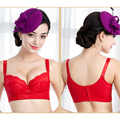 New Ladies Luxury Brand Bra Women Embroidery Lace Bralette Brassiere Push Up Sexy Bras Large Size B C D E F Cup 70 75 80 85 90