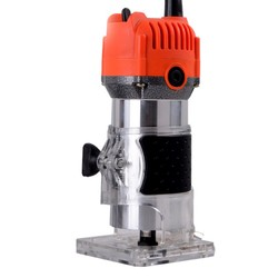 Router Trimmer Durable Small Copper Motor Carving Machine Electric Woodworking Trimmer Power Tool Woodworking Engraving machine