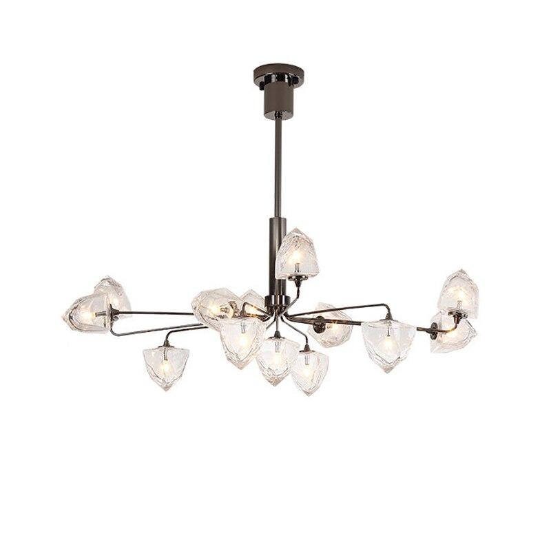 Us 187 17 49 Off Mooielight Clear Glass Ball Living Room Chandeliers Art Deco Lamp Shades Chandelier Modern Indoor Lighting Restaurant Iluminacao In