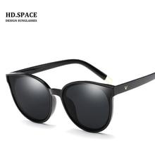 New Fashion Cat Eye Polarized Sunglasses Women Brand Designer Mirror Sun Glasses Vintage Female lentes de sol mujer Sunglasses