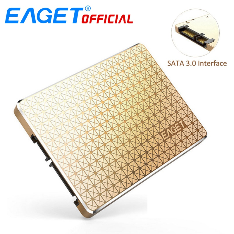 EAGET SSD 2.5 inch Internal Hard Drive Solid State Disk SATA To USB3.0 HD HDD 120GB High Speed Flash Memory For Mac For Laptop
