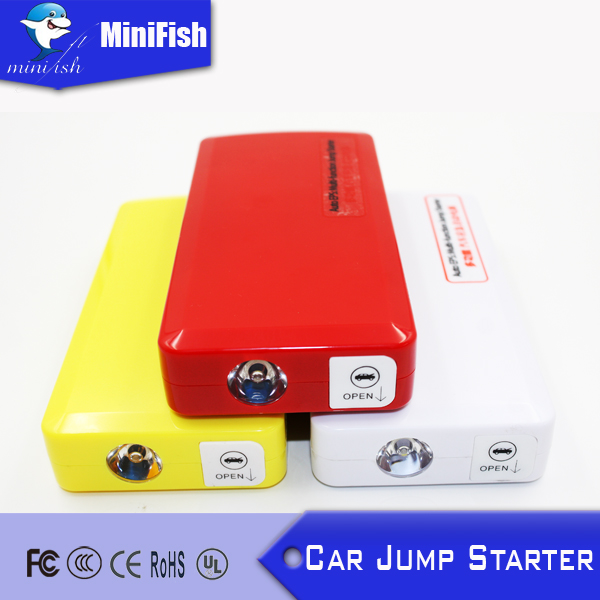 The Best Quality Mini Car Jump Starter with SOS Light / CAR POWER BANK FOR Charge Mobile Phone and Laptop