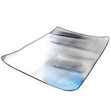 Походный коврик складной спальный матрас коврик водонепроницаемый Алюминиевая фольга EVA Открытый 150x200 см