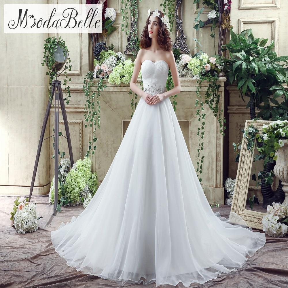 Modest Wedding Dresses: Vestido De Noiva In Stock 2016 Beautiful Modest Wedding