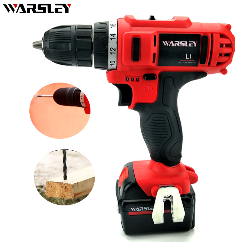 21V Electric Drill Mini Cordless Electric Rechargeable Screwdriver Home Waterproof Multifunction Power Drill Can Drill Wall mini small cordless electric rechargeable screwdriver 4 8v 180rpm 20pcs screwdriver bits 3pcs drill for home use diy tools