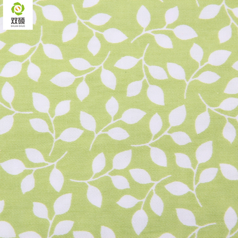Green Color Cotton Fabric Kids Curtains Tissu Sewing Telas Patchwork