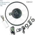Комплект преобразования электрического велосипеда 48v1000W Ebike/E-bike передний бесщеточный мотор без зубчатой передачи Ebik/велосипед колесо с дис...