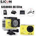 100% original sjcam sj5000x elite 24fps 2 k 30fps wi-fi 4 k giroscópio mergulho 30 m à prova d' água câmera de ação esporte com selfie vara opção