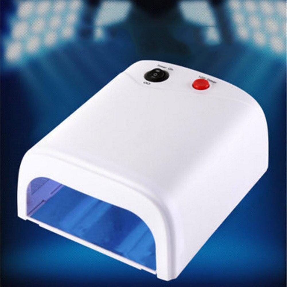 Nail Art Lamp Light 36W Dryer UV Gel Polish Curing Drying Machine Convenient For Women Lady HVR88