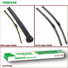 Front And Rear Wiper Blades For Volkswagen Tiguan 2007-2016 High Quality Rubber Windscreen Car Accessories 24+21+13