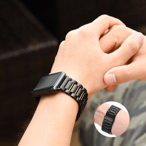 Image 5 - HOCO Edelstahl Armband Quick Release Pins für Apple uhr 44 mm link armband Ersatz Armband für iwatch Serise 4