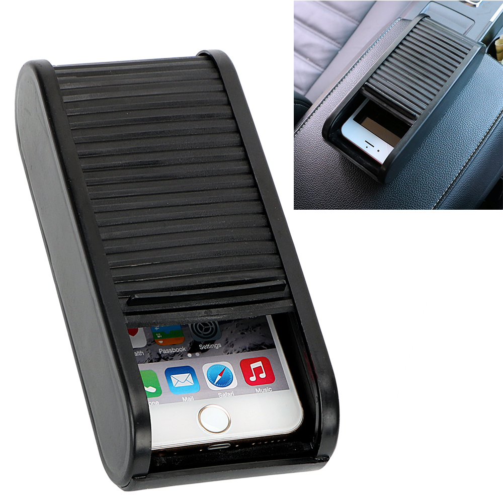 Plastic Car Coin Holder Organizer Money Loose Change Debris Storage Box Container Box for Phone Key Auto Accessories Car-styling black plastics car coin organizer case loose change money storage box container money coin holders organizer moeda 4 grid