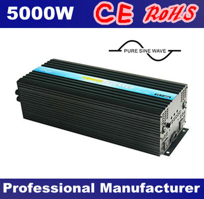 2016 Factory Directly Sell Pure Sine Wave DC AC Off Grid Solar Inverter 5000W