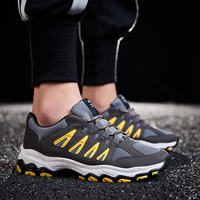 Autumn Sneakers And Leisure Tide Shoes Breathable Mesh Face Wild Deodorant Exercising Shoes Men's Shoes Summer Net Shoes