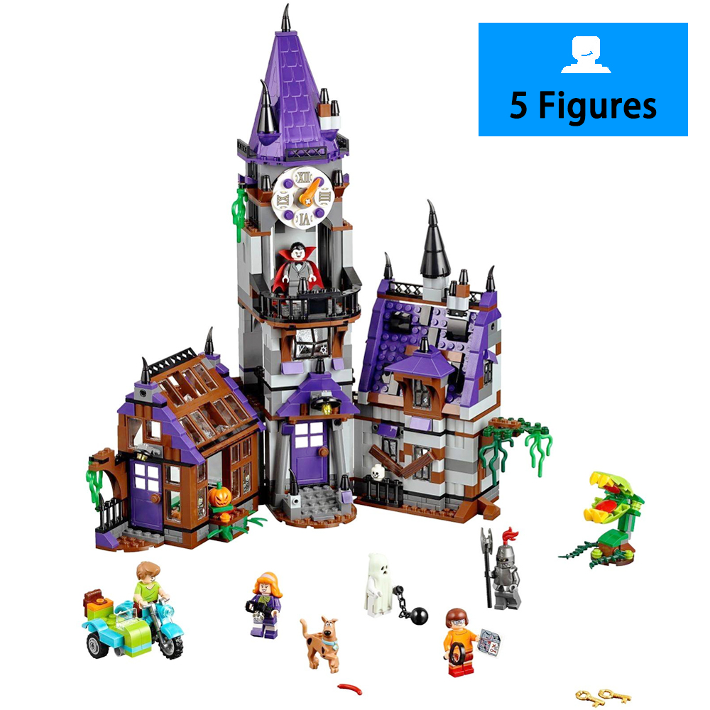 860pcs BELA 10432 Compatible Scooby Doo Figures Mystery Mansion 75904 Model Building Blocks Bricks Toys Christmas Gifts For kid u 3 usb sd asynchronous full color video led control card 384 128 768 64pixels u disk rgb module led screen drive system