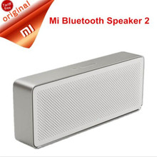 Xiaomi Original Newest Speaker Pencil Box Xiaomi Bluetooth 4.2 Speaker 2 Square Stereo Portable High Definition Sound Quality