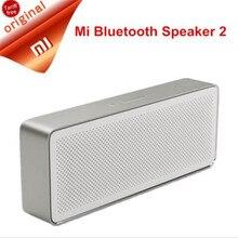 Xiaomi caixa de som portátil original, alto falante, bluetooth 4.2, 2 quadrados, stereo, alta definição, alta qualidade de som