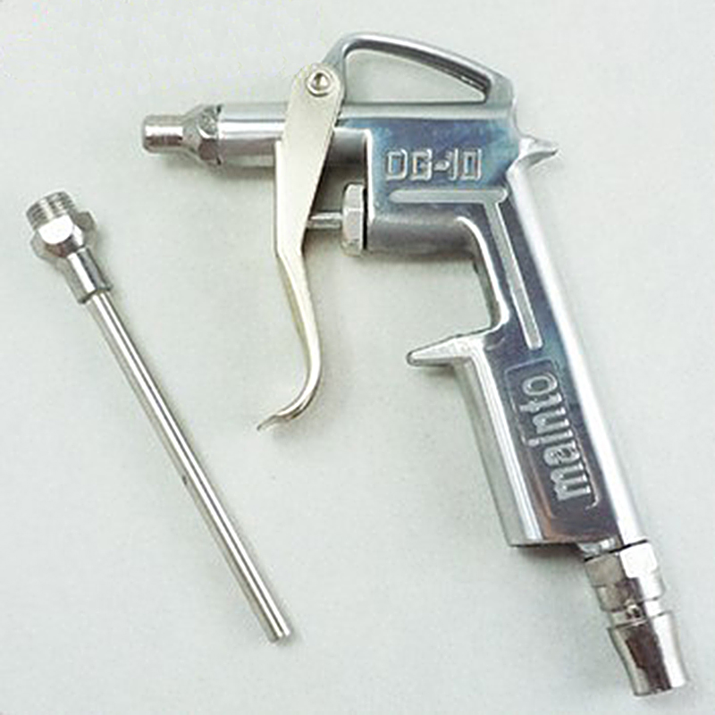 1 pc DG-10 Air Blow Gun Pistol Trigger Cleaner Compressor Dust Blower 8 Inch Nozzle Stofdoek Cleaning Tools
