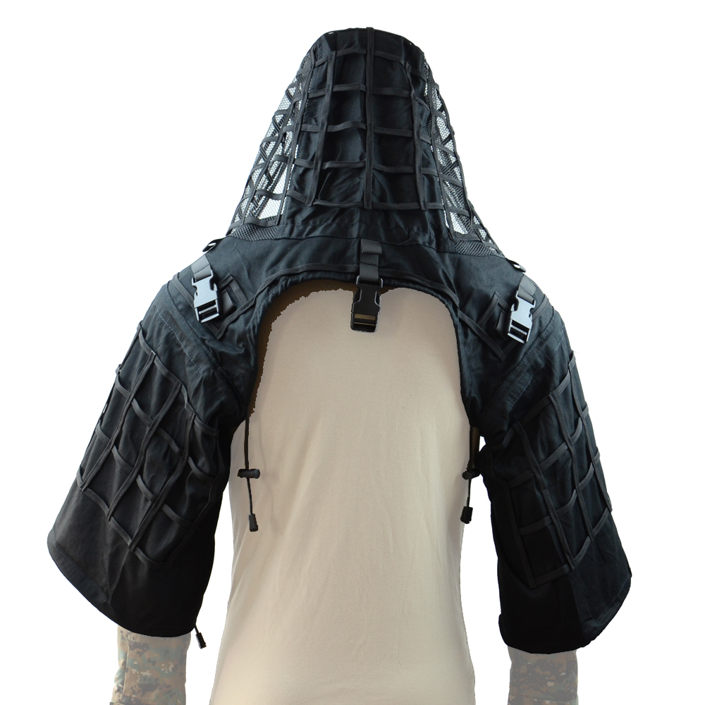 ROCOTACTICAL Sniper Tog Ghillie Suit Foundation Breathable Tactical Viper Hood Camouflage Ghillid Hood