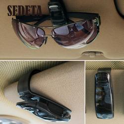 Hot black car vehicle visor sunglasses glasses clip eyeglass pen ticket card clip holder accessories.jpg 250x250