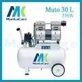Manka Importa-30L 550 W Dental Compresor De Aire/Impresión en el Tanque/Cámara A Prueba de Herrumbre/Silent/aceite de Menos/Sin Aceite,/Máquina De Compresión