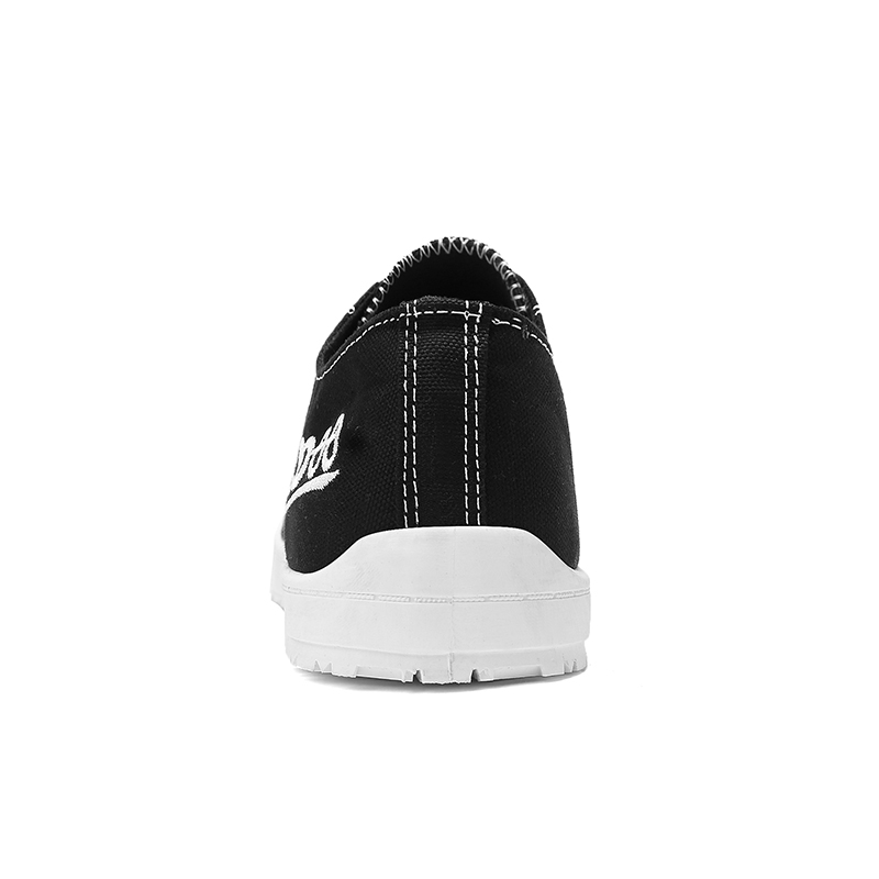 LAISUMK Men 39 s Sneakers Fashion Lace Up Black White Solid Sewing Canvas Shoes Shallow Casual Canvas Shoes Fabric Sapato Minino in Men 39 s Casual Shoes from Shoes